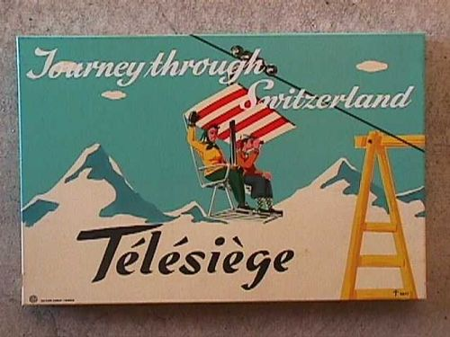 Journey Through Switzerland: Télésiège