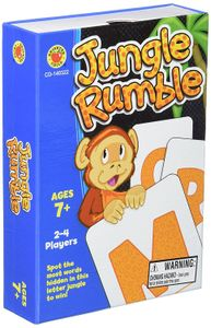 Jungle rumble card game