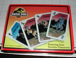 Jurassic Park: Dinosaur Escape Card Game