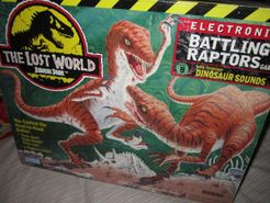 Jurassic Park Electronic Battling Raptors Game