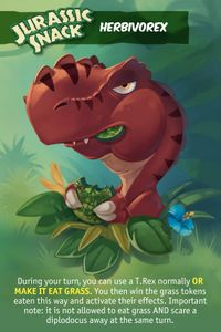 Jurassic Snack: Herbivorex Promo Card