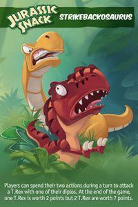 Jurassic Snack: Strikebackosaurus Promo Card