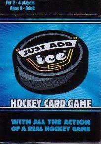 Just Add Ice Hockey Card Game