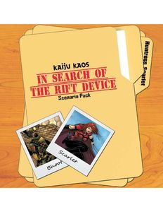 Kaiju Kaos: In Search of the Rift Device – Scenario Pack