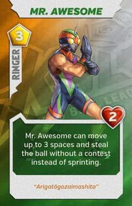 Kaosball: Ringer – Mr. Awesome