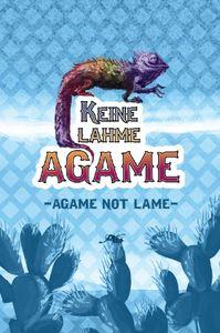 Keine lahme Agame