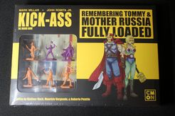 Kick-Ass: The Board Game – Remembering Tommy & Mother Russia Fully Loaded