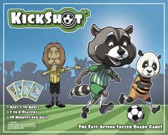 KickShot Soccer Strategy Board Game