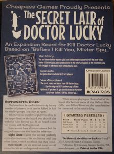Kill Doctor Lucky: The Secret Lair of Doctor Lucky
