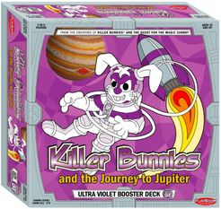 Killer Bunnies and the Journey to Jupiter: Violet, Orange and Green Booster Combo Deck