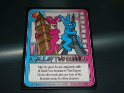 Killer Bunnies and the Quest for the Magic Carrot: A Tale Of Two Bunnies Promo Card