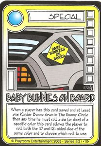 Killer Bunnies and the Quest for the Magic Carrot: Baby Bunnies On Board Promo Card