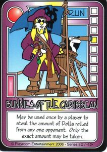 Killer Bunnies and the Quest for the Magic Carrot: Bunnies of the Caribbean Promo Card