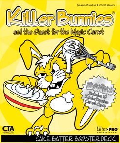 Killer Bunnies and the Quest for The Magic Carrot: Cake Batter Booster Deck