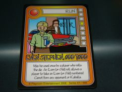 Killer Bunnies and the Quest for the Magic Carrot: Even Stephen, Odd Todd Promo Card
