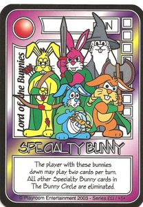 Killer Bunnies and the Quest for the Magic Carrot: Lord Of The Bunnies Promo Card