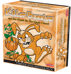 Killer Bunnies and the Quest for the Magic Carrot: Pumpkin Spice Booster