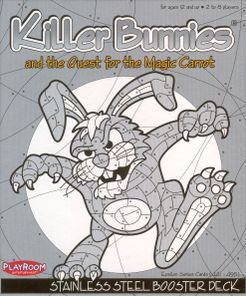 Killer Bunnies and the Quest for the Magic Carrot: Stainless STEEL Booster