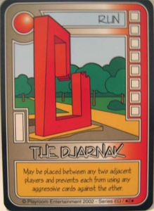 Killer Bunnies and the Quest for the Magic Carrot: The Djarnak Promo Card