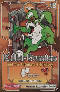 Killer Bunnies and the Ultimate Odyssey: Animals Expansion Deck B