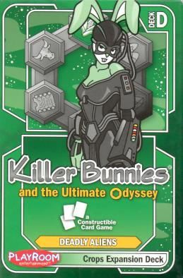 Killer Bunnies and the Ultimate Odyssey: Crops Expansion Deck D
