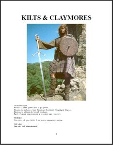 Kilts & Claymores