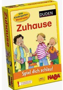 Kindergarten-Wörterspiel: Zuhause