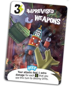 King of New York: Improvised Weapons