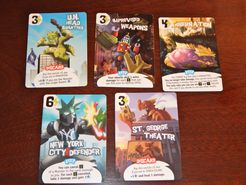 King of New York: Promo Cards