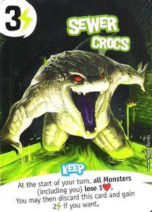 King of New York: Sewer Crocs