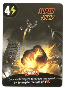 King of Tokyo: Super Jump Goodie Card