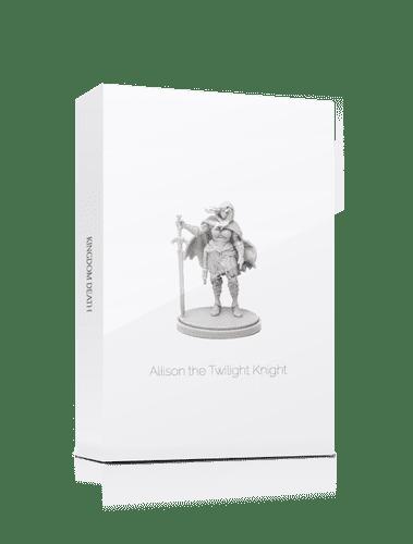 Kingdom Death: Monster – Allison The Twilight Knight (White Box) Promo Cards