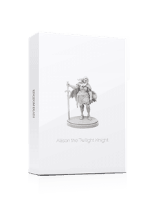Kingdom Death: Monster – Allison The Twilight Knight (White Box) Promo Cards