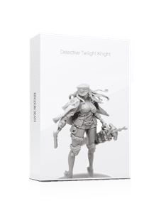 Kingdom Death: Monster – Detective Cap & Twilight Revolver