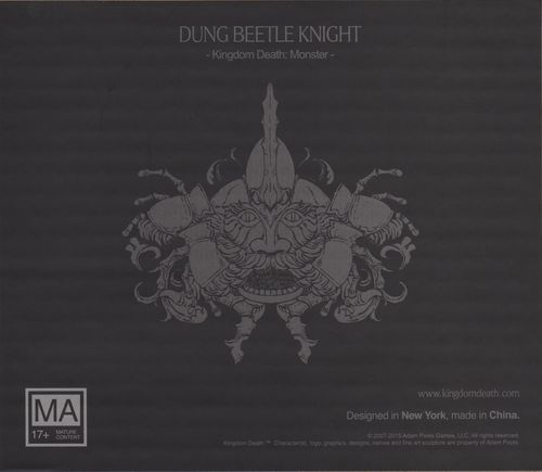 Kingdom Death: Monster – Dung Beetle Knight Expansion