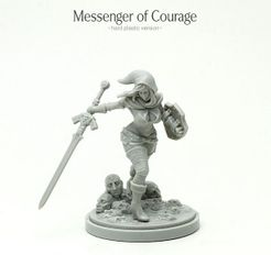 Kingdom Death: Monster – Messenger of Courage Promo Miniature