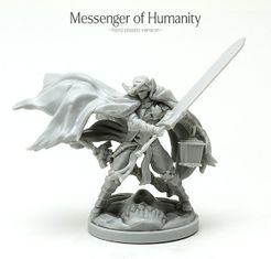 Kingdom Death: Monster – Messenger of Humanity Promo Miniature