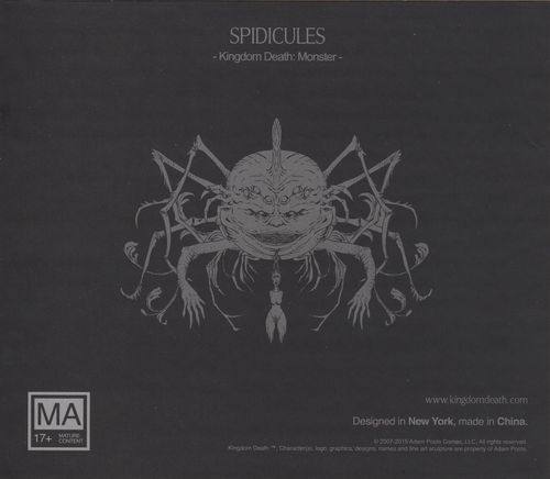 Kingdom Death: Monster – Spidicules Expansion