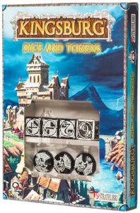 Kingsburg: Dice and Tokens (Black)