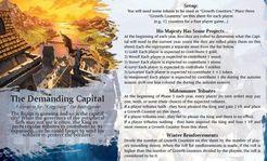 Kingsburg: The Demanding Capital