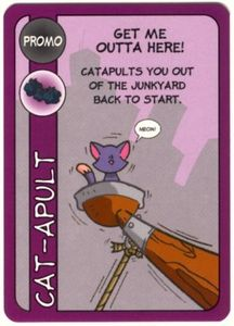 Kitty Chaos: Get Me Outta Here Promo Card