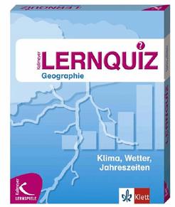 Klima, Wetter, Jahreszeiten: Lernquiz Geographie