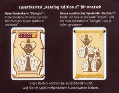 Knatsch: Katalog Edition 2