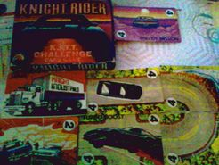 Knight Rider: K.I.T.T. Challenge Card Game