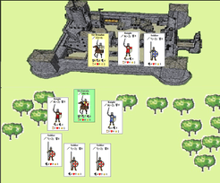 Knights of Arthur: A Game of Knightly Adventure in the Age of King Arthur.