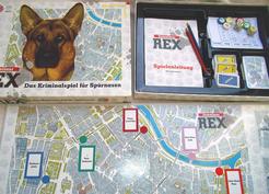 Kommissar Rex: Das Kriminalspiel für Spürnasen