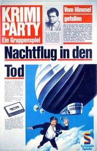 Krimi Party: Nachtflug in den Tod