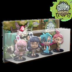 Krosmaster: Arena – Gloomy Grove Classic Pack 1
