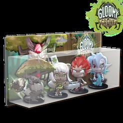 Krosmaster: Arena – Gloomy Grove Elite Pack 1