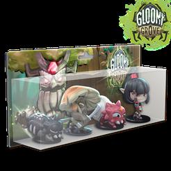 Krosmaster: Arena – Gloomy Grove Elite Pack 2